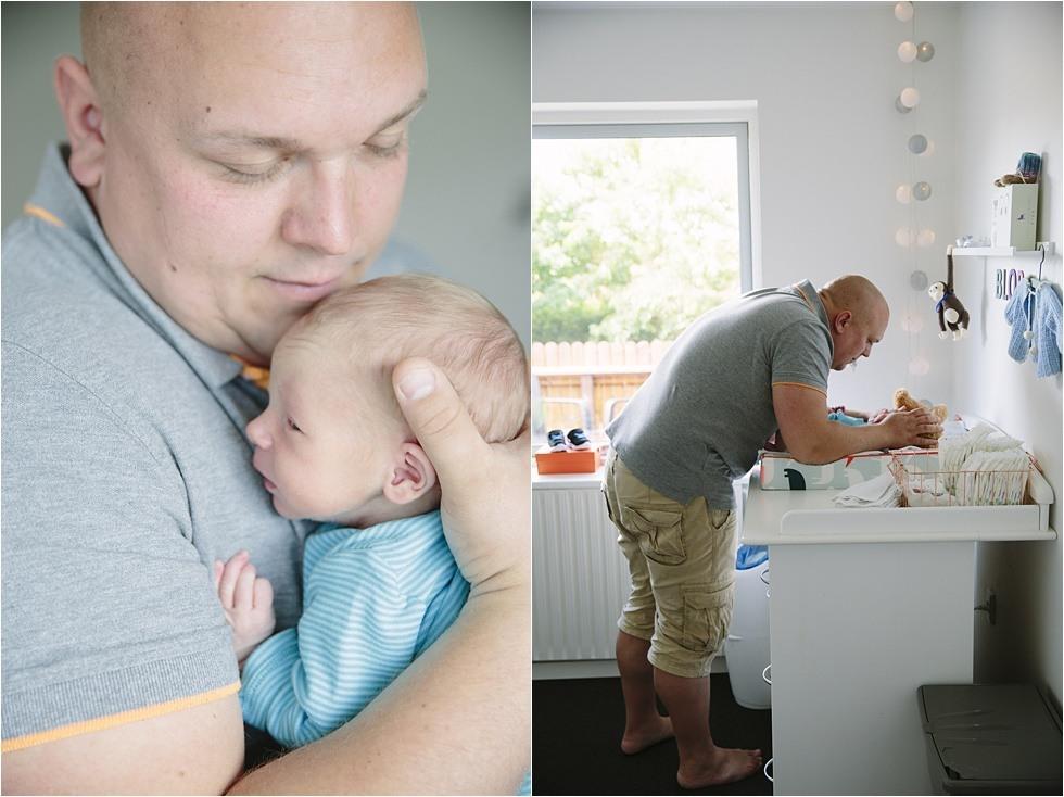 Nyfødt baby fotograf Tine hvolby12