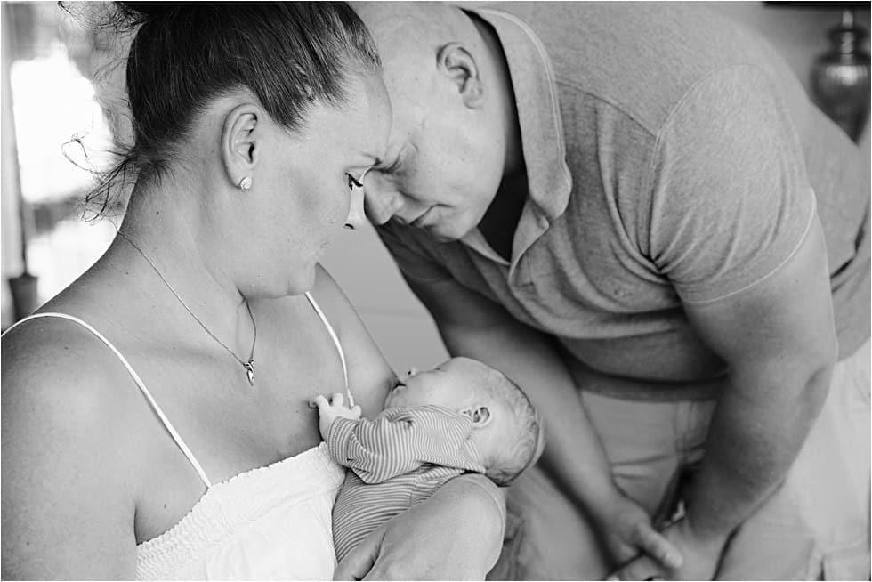 Nyfødt baby fotograf Tine hvolby25