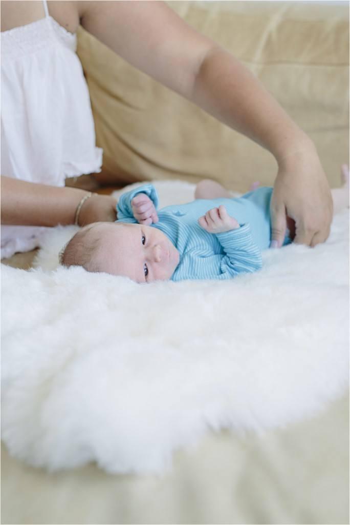 Nyfødt baby fotograf Tine hvolby30