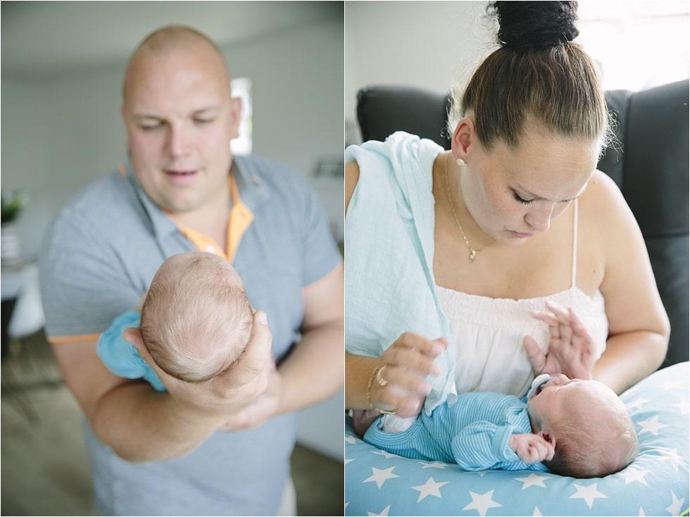 Nyfødt baby fotograf Tine hvolby37