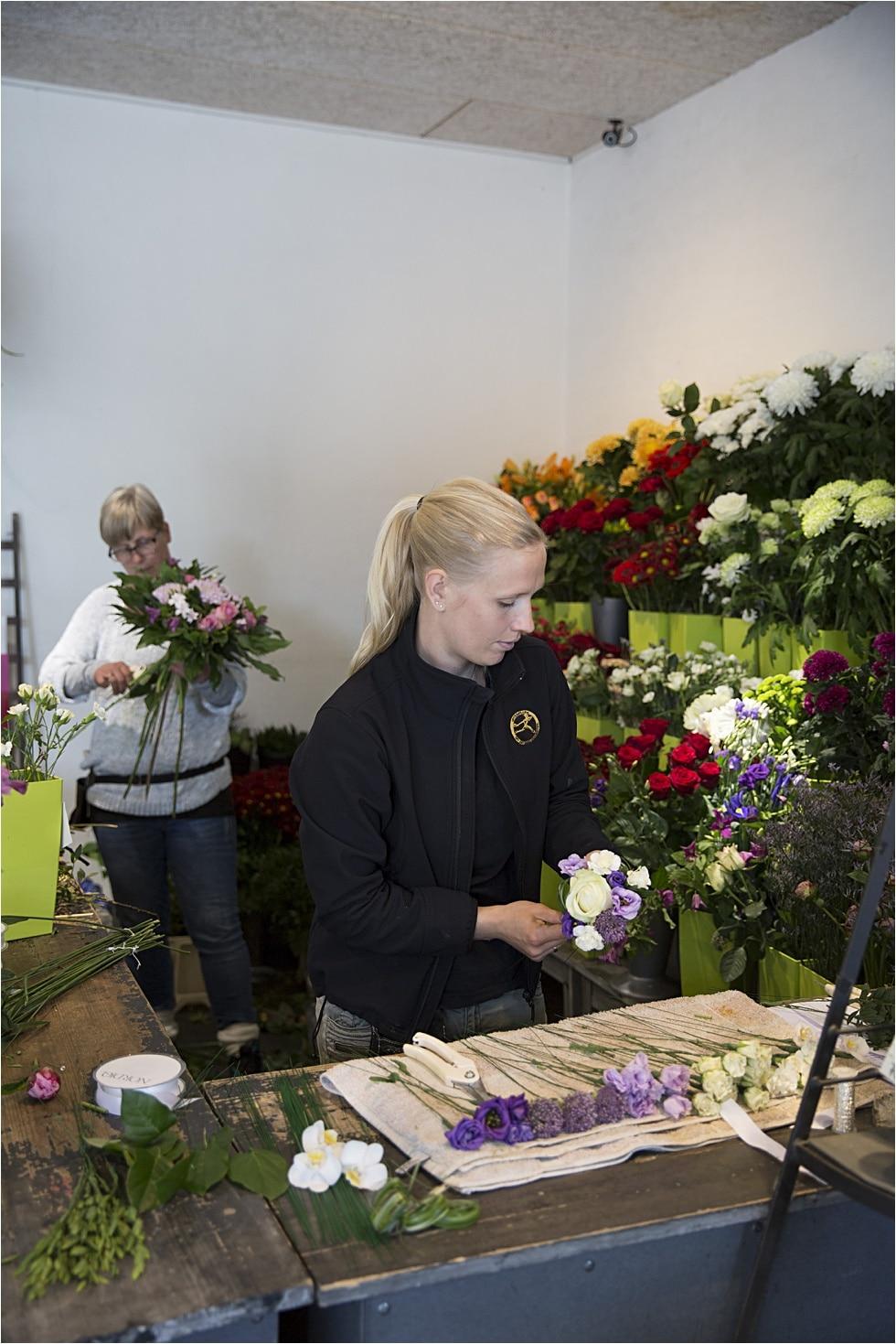 brudebuket interflora leverandør vejle fotograf Tine hvolby52