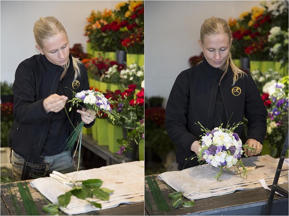brudebuket interflora leverandør vejle fotograf Tine hvolby57
