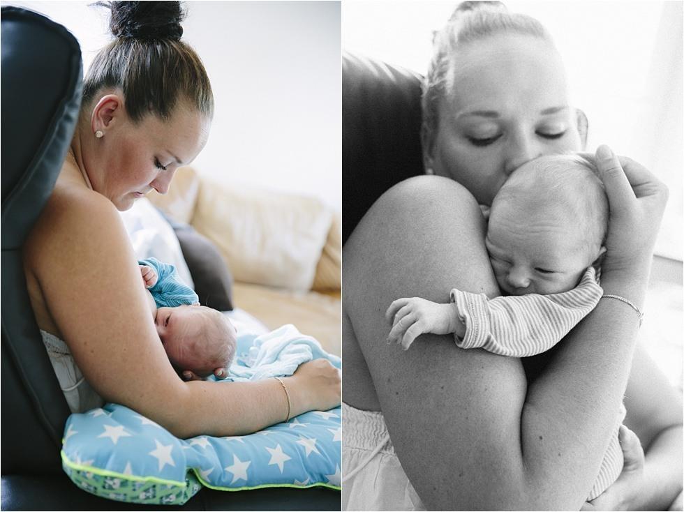 Nyfødt baby fotograf Tine hvolby20