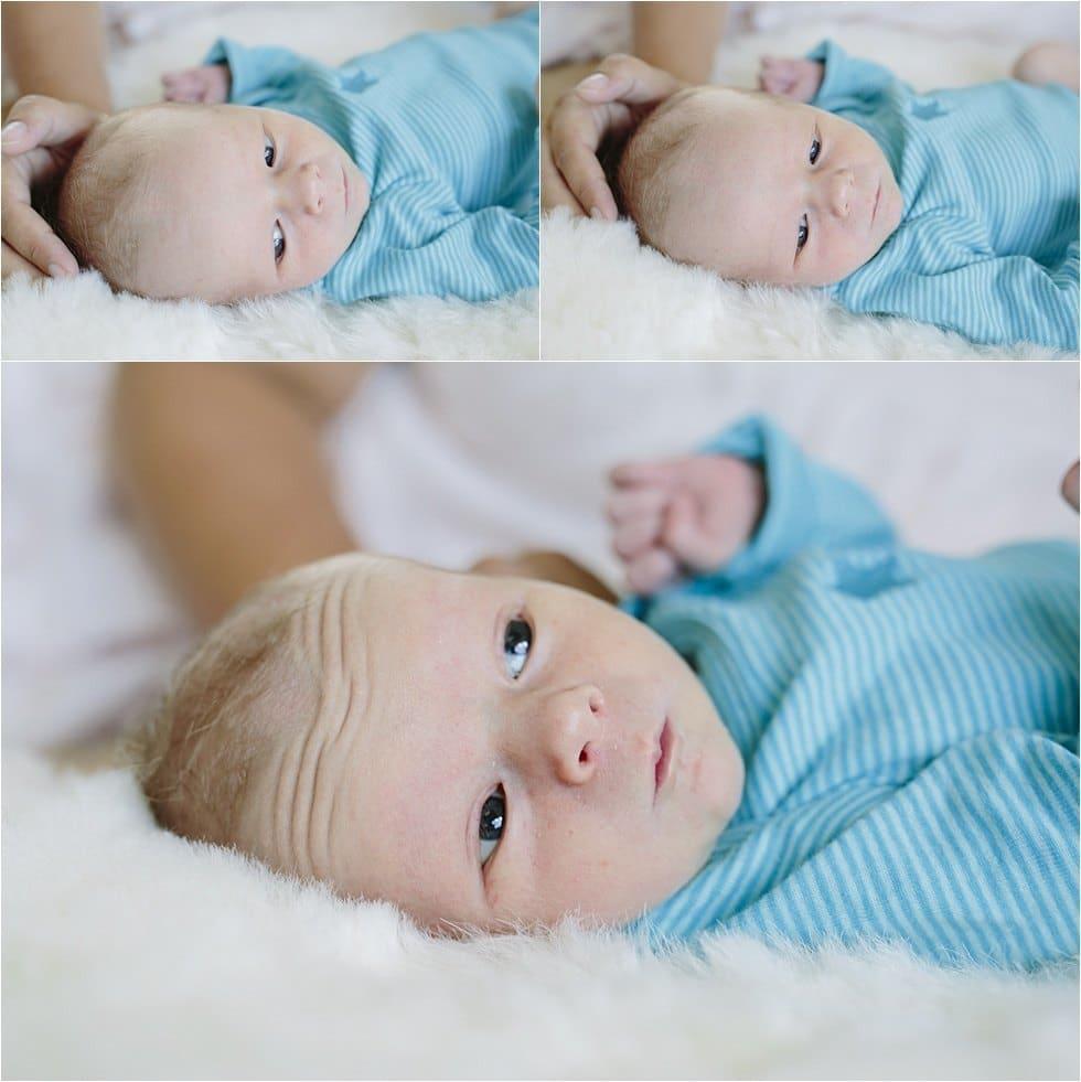 Nyfødt baby fotograf Tine hvolby34