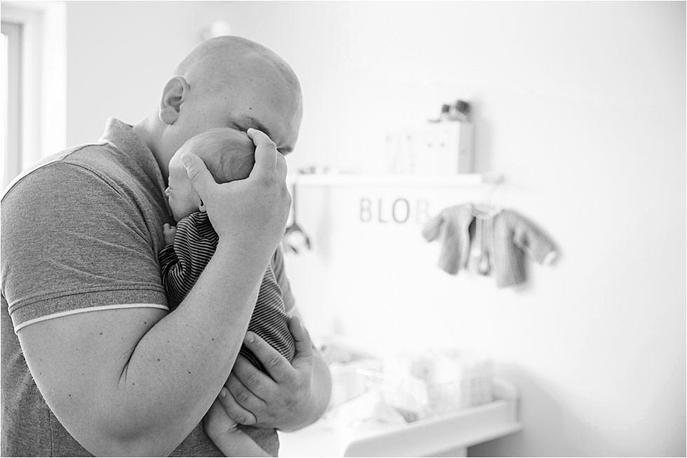 Nyfødt baby fotograf Tine hvolby42