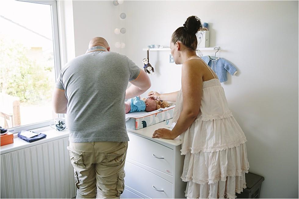 Nyfødt baby fotograf Tine hvolby43