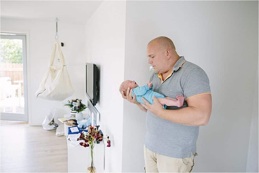 Nyfødt baby fotograf Tine hvolby45