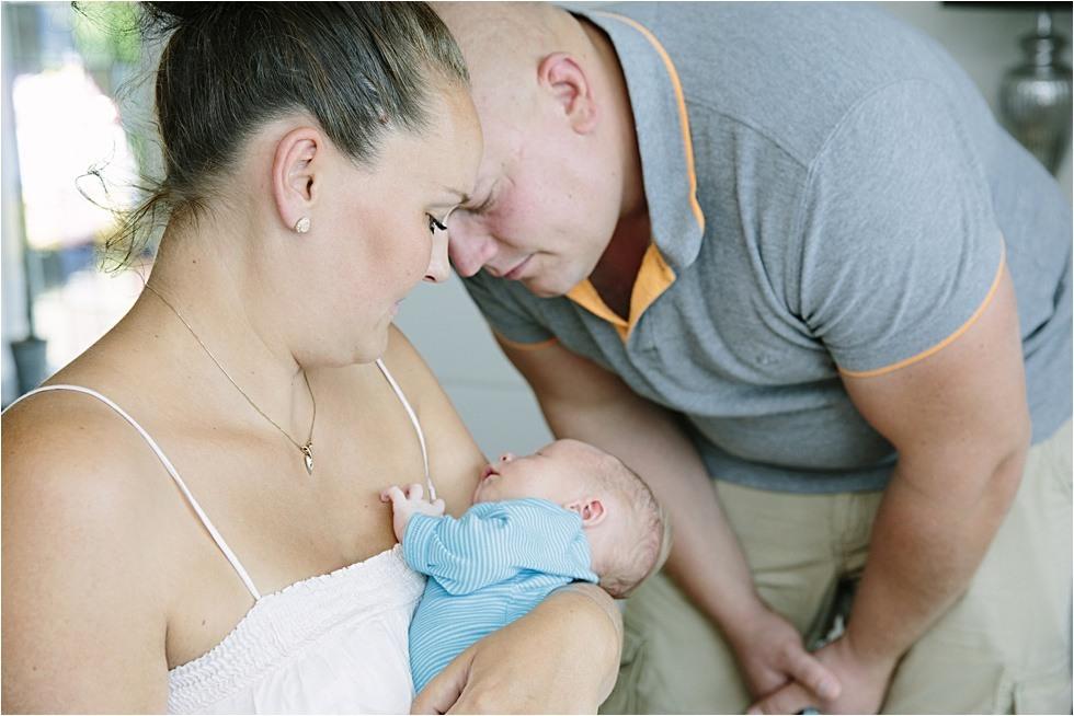 Nyfødt baby fotograf Tine hvolby46